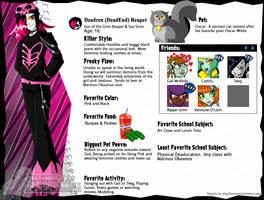 MH OC - Deadren (DeadEnd) Reaper by ReignbowFright