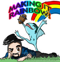 MAKING IT RAINBOW!!! by ReignbowFright