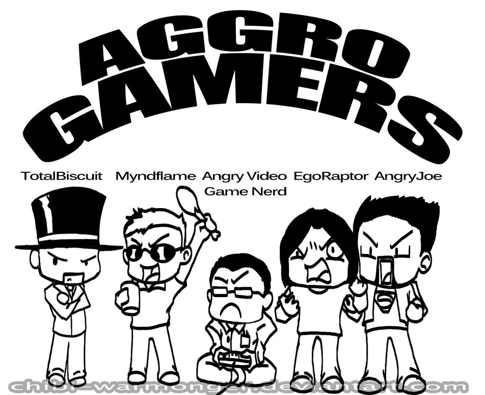 AGGRO GAMERS!!! by