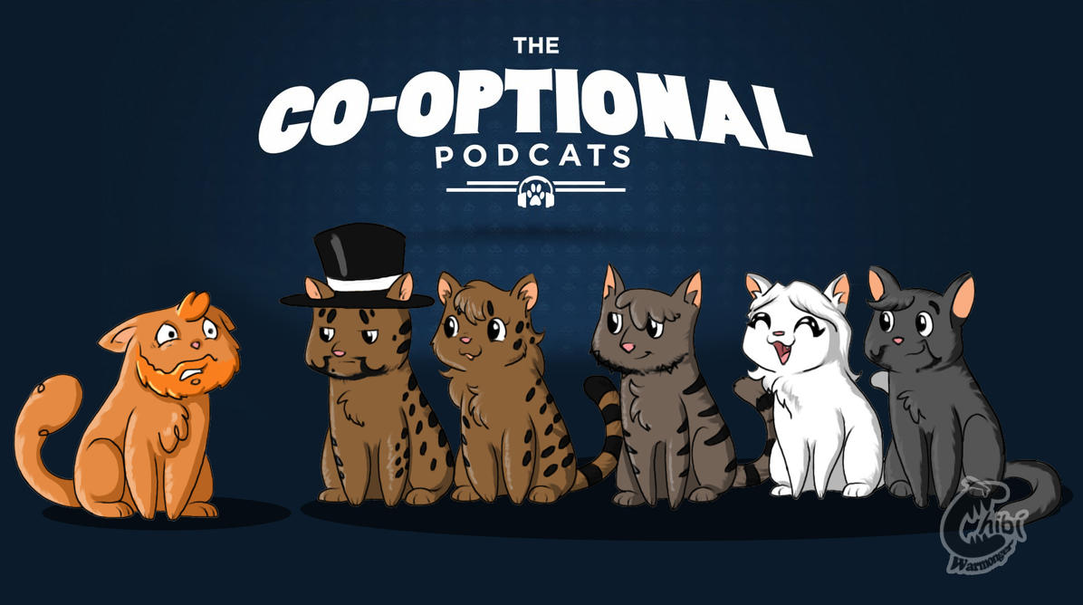 THE CO-OPTIONAL PODCATS by Chibi-Warmonger
