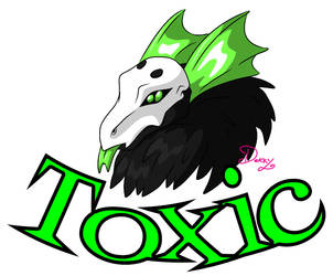 Flight Rising: TOXIC by ReignbowFright