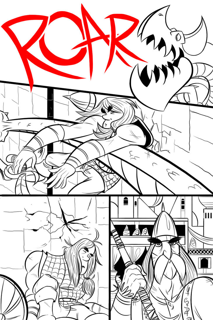 A Thief's Sentence: Page 4 by BlueVenture