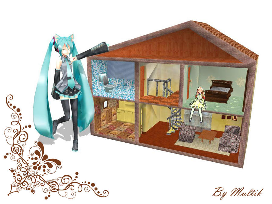 Mmd accessory doll house by innaaleksui on deviantart for Accessory house