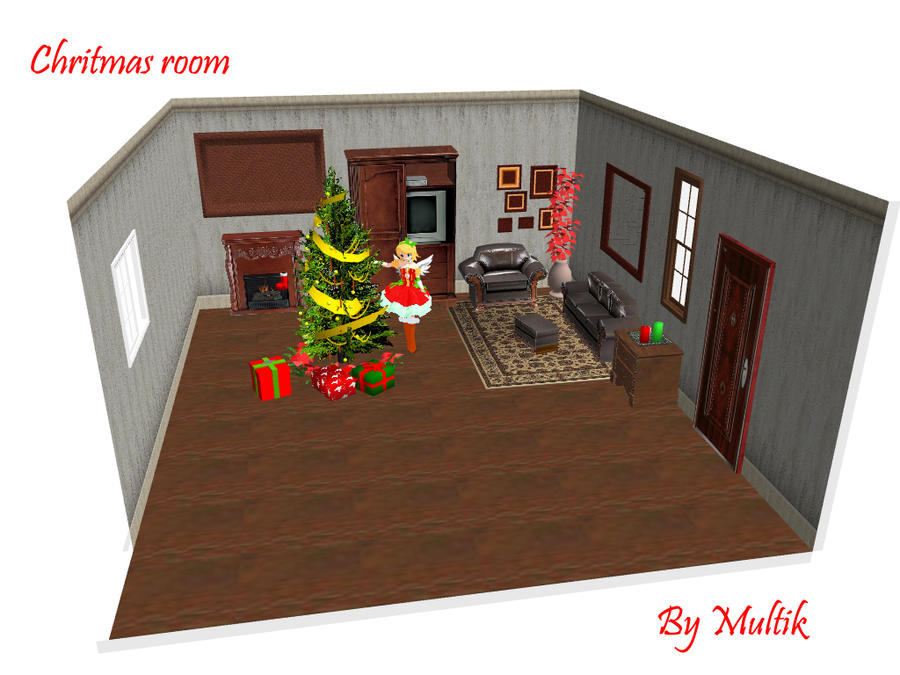 Mmd accessory xmas room by innaaleksui on deviantart for Accessory house