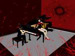 MMD Accessory Grand piano DL