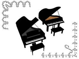 MMD Accessory Grand piano 2 DL by innaaleksui