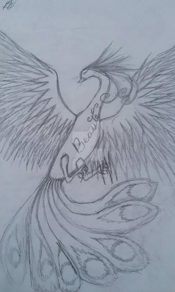 Phoenix of Beauty by LordHuiai