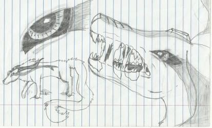 Demonwolf by PandaDragon1996