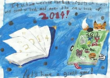 Happy New Years by PandaDragon1996
