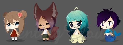 closed Chibi adopts by ventingRadiation