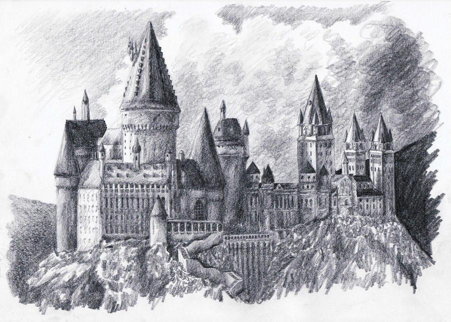 Hogwarts by matsuo1326 on DeviantArt
