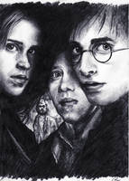 Harry Potter poster by matsuo1326