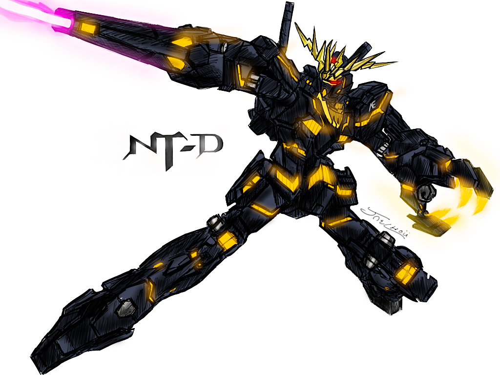 BANSHEE GUNDAM by Jaechou on DeviantArt