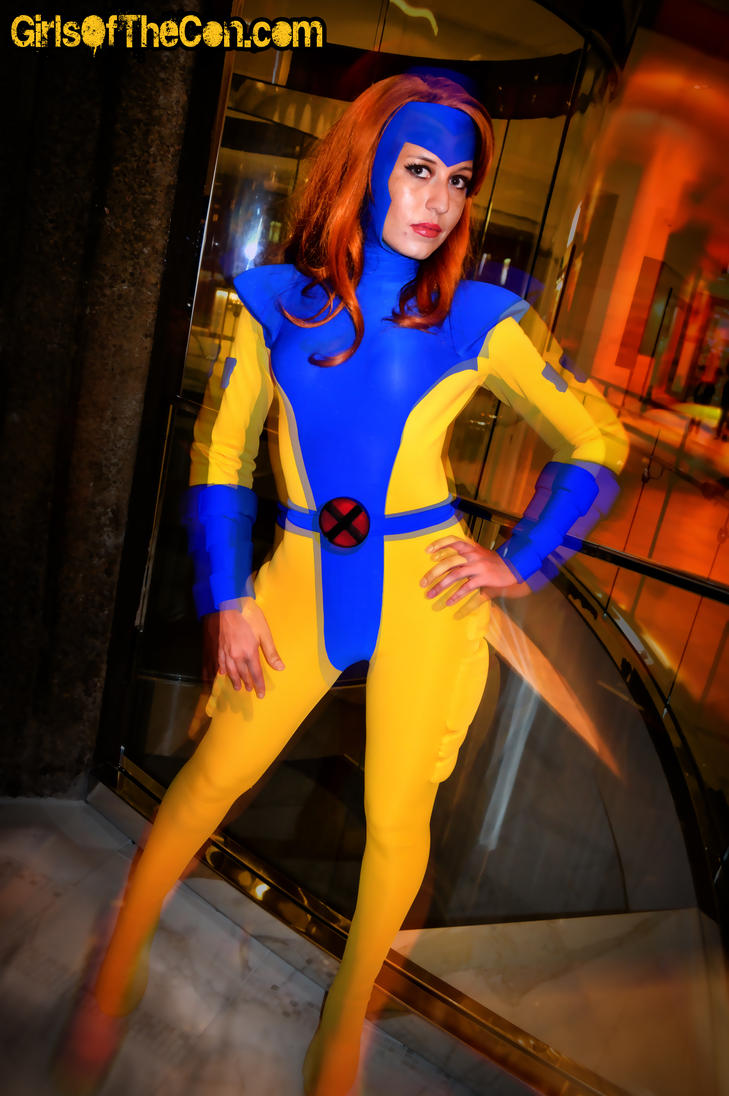 Jean grey x men dragon con 2012 by conventiongirls on deviantart