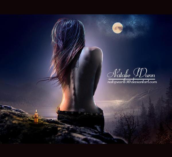 -LUNAS-MOONLIGHT - Página 2 Lonely_night_by_natspearl13-d4sj09p