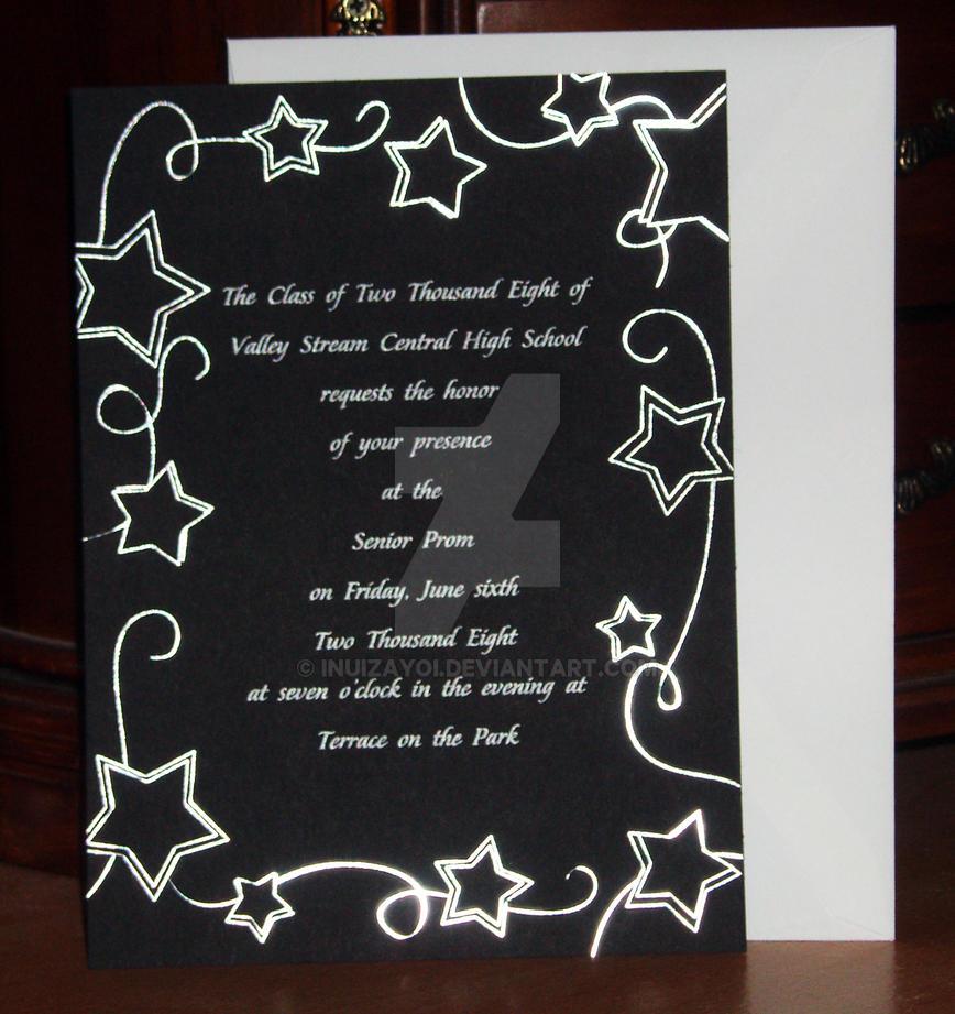 teens prom invitation - 868×921