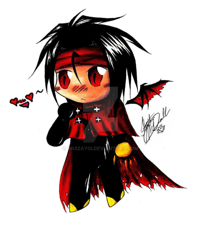 Vincent Valentine Chibi :D by InuIzayoi