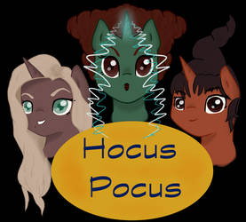 Sanderson Sisters Ponified