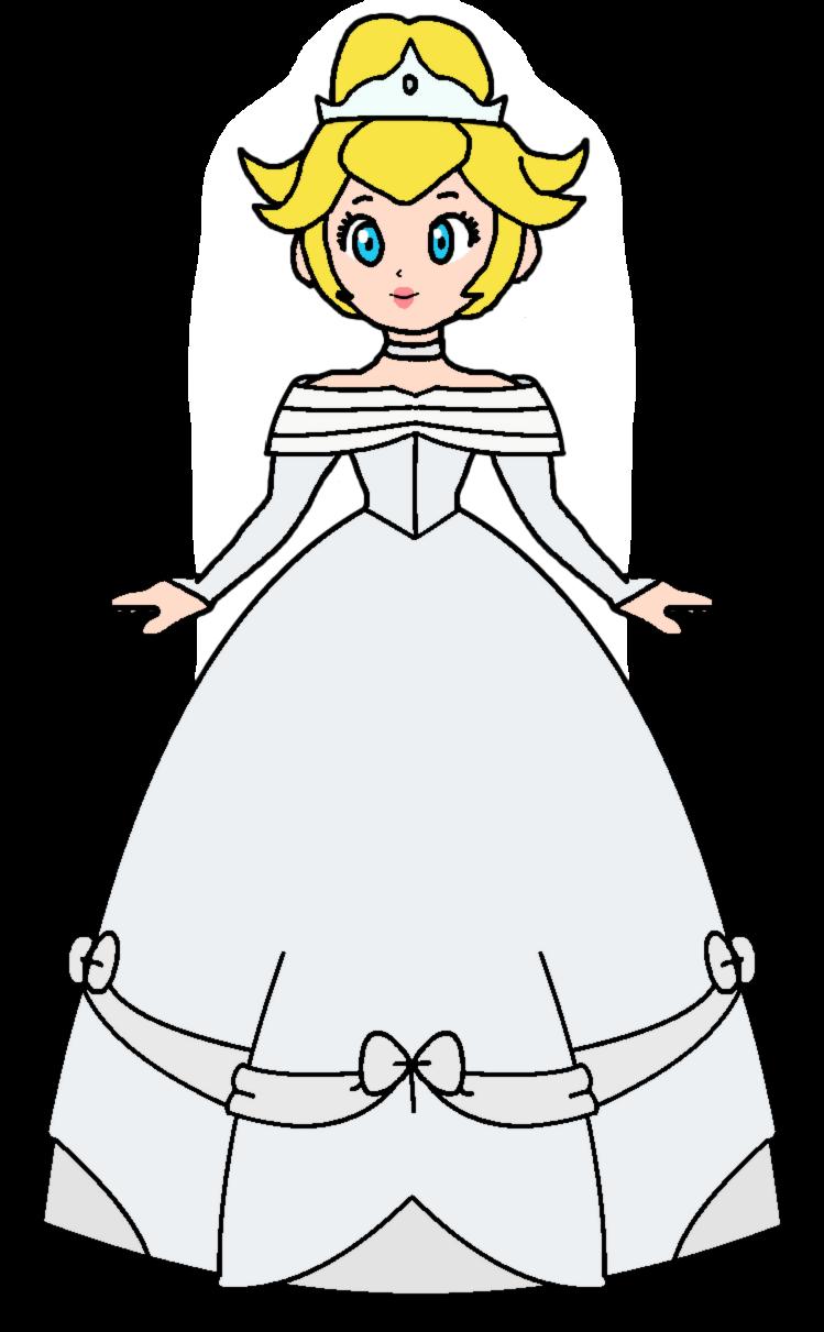 Peach cinderella wedding dress ii by katlime on deviantart for Princess peach wedding dress