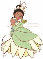 Princess Tiana by KatLime