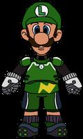 Luigi - Strikers Charged