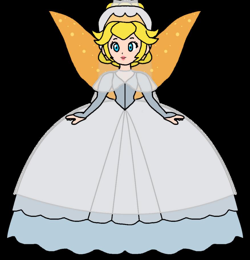 Peach - Thumbelina (Wedding Dress) by KatLime on DeviantArt