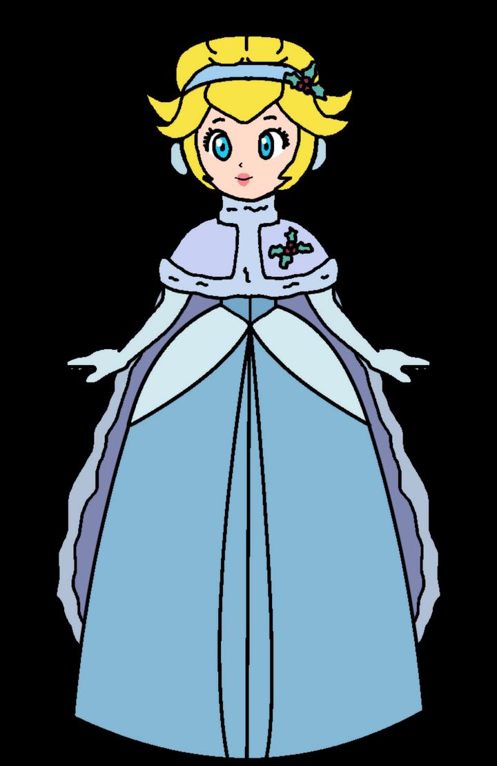 Peach - Cinderella (Xmas #1) by KatLime on DeviantArt