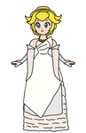 Peach - Princess Luna Nox Fleuret (Wedding Dress)