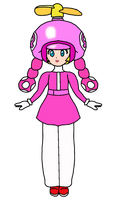Peach - Toadette (Propeller) by KatLime