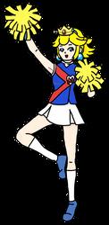(C) Cheerleader Peach