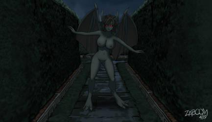 [Concept Art] Gargoyles in the Maze by Its-ZaBoom