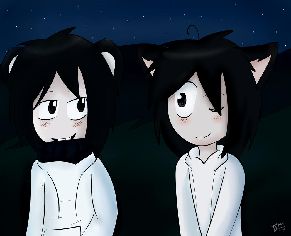 Panda x Neko by ask-jeff-the-neko