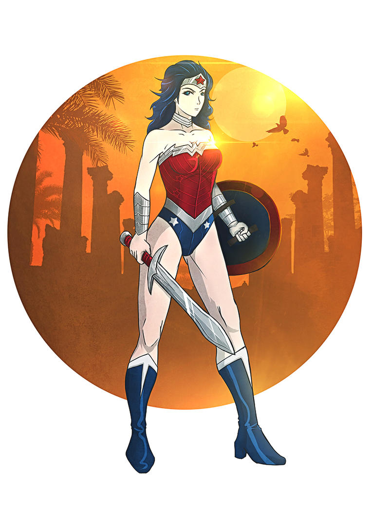 Wonder Woman by efesei