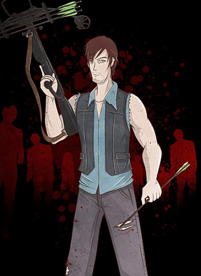 Daryl Dixon by efesei