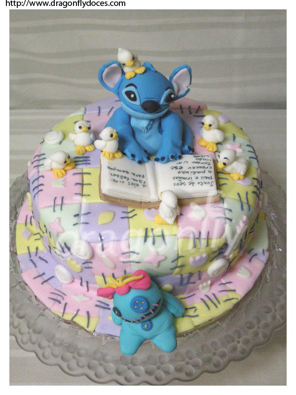 Stitch Cake By Dragonflydoces On Deviantart