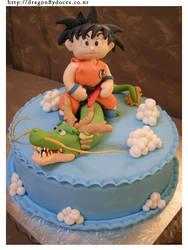Dragon Ball Cake by dragonflydoces