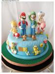 New Mario Cake