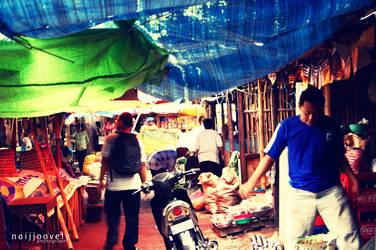 at traditional market by naijjoovely