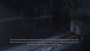 Epilogue (part.3) - The fate of  Commander Baron..