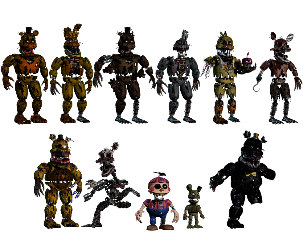 how to draw withered freddys body from the 1st one