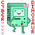 Cyberdinosaur BMO Icon by Cybbes