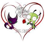 Be My Valentine... by Black7Ivy