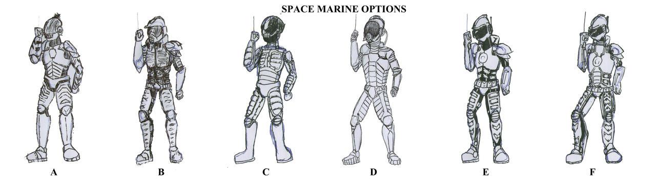 Space marines round 1 by moukidelmar on DeviantArt