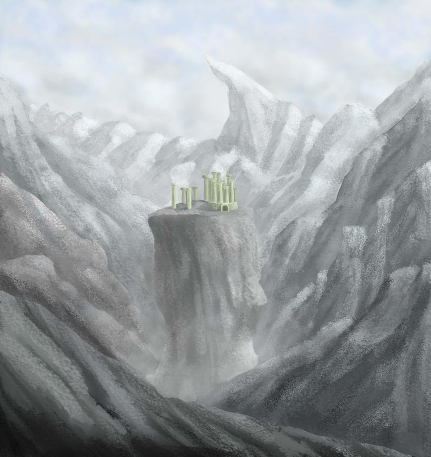 Landscape Practice by BACONBLOODSTRIKE