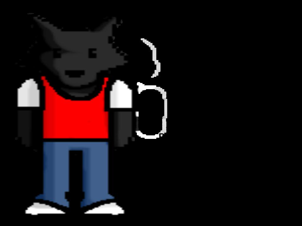 Pixel KaWaii Utachi (The Wolf)