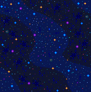 Space Pattern by darkMaju