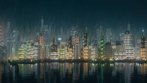 Night City Landscape by CG-Geek