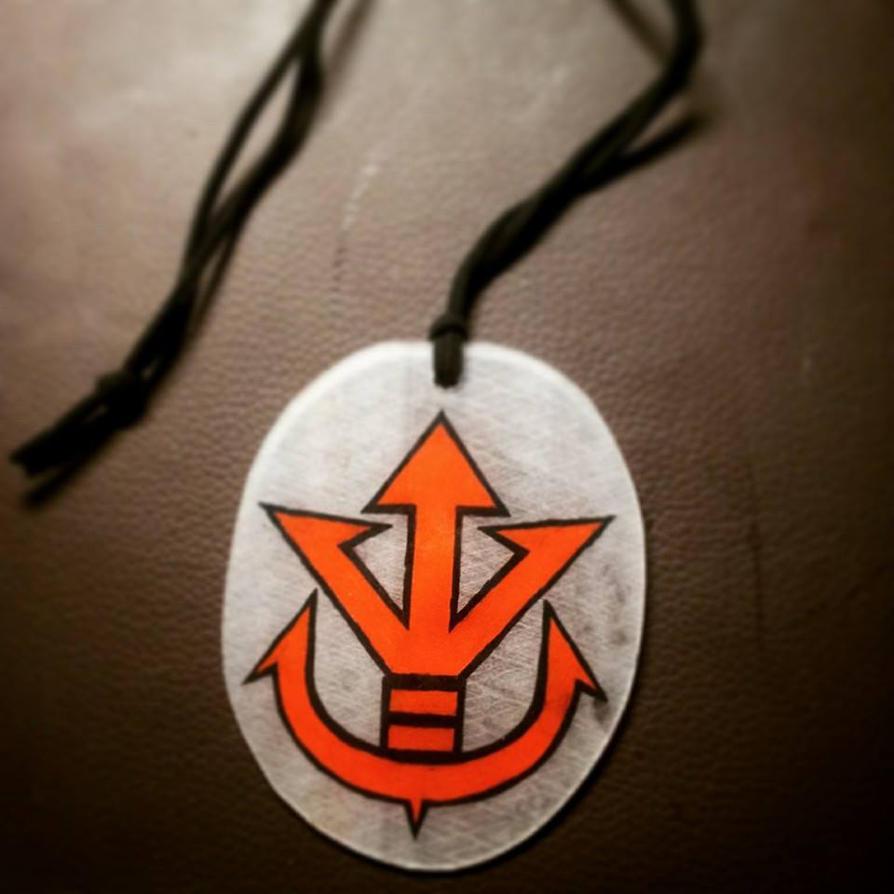 Saiyans emblem keychain by CiceroVanStain