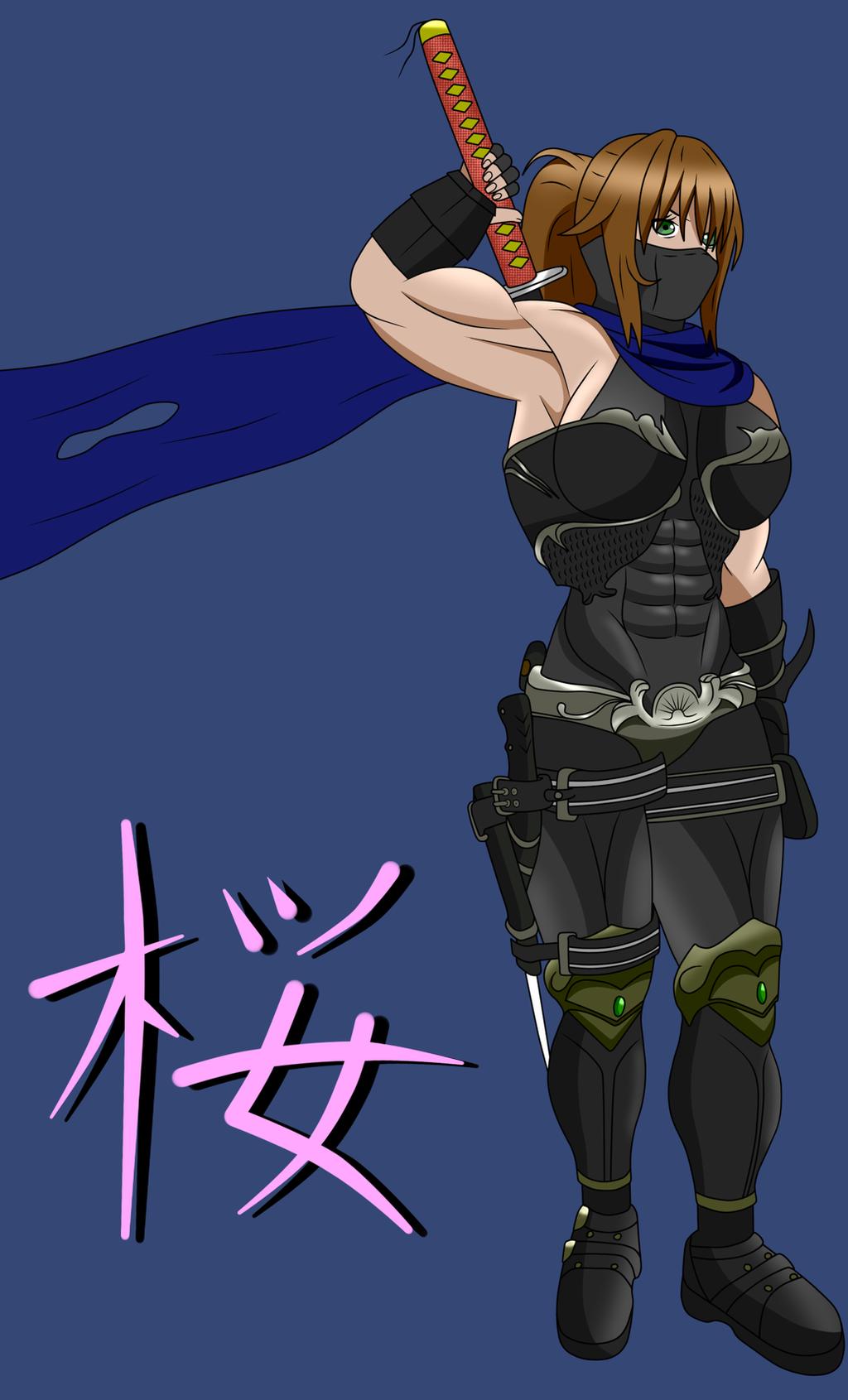 Kunoichi Sakura By Traz7  !! by Muscle-girl-Sakura