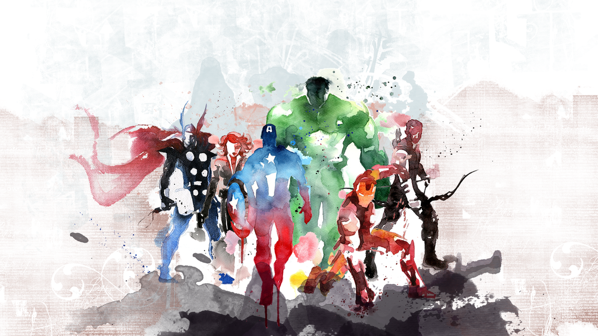 Fantastic Wallpaper Mac Marvel - the_avengers_by_flowmediaproductions-d7ibyms  HD_7035100.png